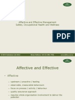Affective %26 Effective Safety Management