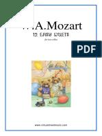 cello duet - Mozart - 12 Easy Duets.pdf
