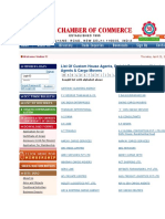 Directory of CHAs FFs Brokers Exporters and Importers