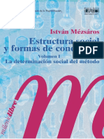 István Mészáros - Estructura Social y Formas de Conciencia - V. I