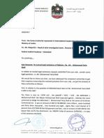 UAE Response - (Gulf Steel)  Panama JIT Final Report - Vol-III