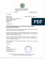 BVI Response - Ownership of Avenfield Apartments