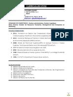 CV Detaillé Nabia PDF Logistique