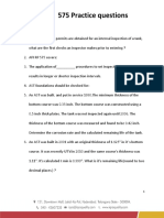 API 575 Practice Questions