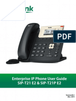 Yealink SIP-T21 E2 & T21P E2 User Guide V80 1