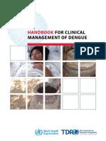 Handbook for Clinical Management of Dengue