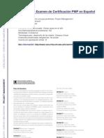 PROJECT MANAGEMENT - Preparación de Examen de Certificación PMP en Español