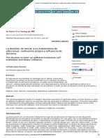 La Decisión de Entrar a Un Tratamiento de Adicciones_ Motivación Propia e Influencia de Terceros