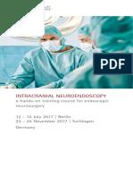Intracranial Neuroendoscopy 2017