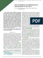 Model Predictive Control of Air Cond Loads