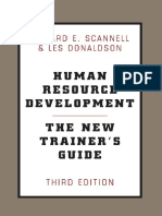 Les Donaldson, Edward Scannell, Edward S. Scannell-Human Resource Development_ The New Trainer's Guide-Basic Books (2000) (1).pdf