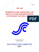449 - Hydrodynamic Pressure and Impact Loads for High-speed Catamaran or Ses Hull Forms