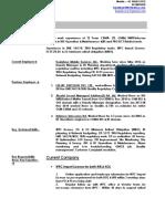 CV Updated Kausik Roy-June 2017