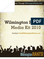 Wilmington Rants Media Kit 2010