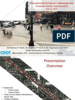 Milwaukee Ave Presentation, July 12, 2017