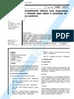 NBR 10515 - Revestimento interno com argamassa de cimento para tubos e conexoes de aco-carbono.pdf