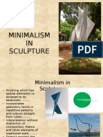 Minimalism in Sculpture