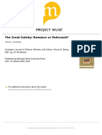 great gatsby research - romance or holocaust
