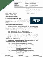 Surat Makluman PA SVM 2017