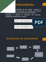 Antioxidantes para harina de pescado