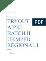 To AIPKI Regional 1 Batch II 15 April 2017