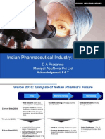 Indian Pharmaceutical Industry- Vision 2010