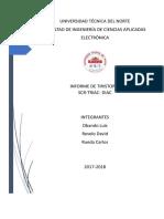 Informe de Tiristores. GRUPO 4
