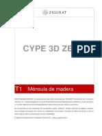 PARTE 1-MenSula de Madera CYPE3D
