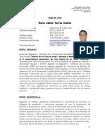 Hoja de Vida Camilo Torres