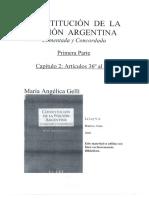 Constitucion de la Nacion Argentina-- Maria Angelica Gell.pdf