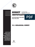 USGS Budget