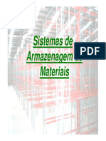 Sistemas de Armazenagem de Materiais