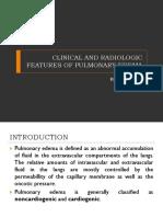 Presentasi Radiologi Edema Paru