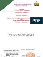 Vaskularisasi Cerebri & Sistem Ventrikular Fix