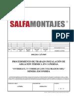 10012361-Cañ-p 007 Rev 0 Procedimiento Instalación Aislación Térmica Cañería
