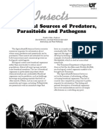 Commercial Sources of Predators, Parasitoids and Pathogens