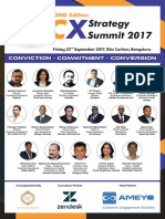 2nd Edition CX Strategy Summit 2017