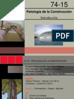 011-Introduccion Patologia de La Construccion