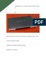 2 MANUAL DE DESENSAMBLE DE LA COMPUTADORA PORTATIL SONY VAIOI VGN.docx