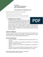 Programa Derecho 2 2016
