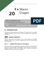 Macro usages