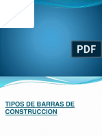 Barras de Construccion