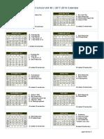 approved rsu 40 calendar 17-18