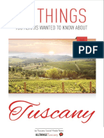 10 Things to Know Tuscany eBook