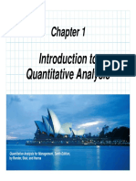 Chapter 01 quantitative techniques for business