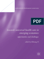 Towards Universal Health Care in Emerging Economies