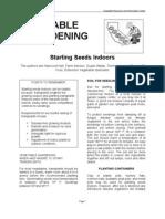 Seeds. Starting Seeds Indoors 1