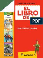 Libro de lenguaje docente santillana 4° Básico