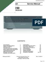 Harman Kardon AVR 365 230 Service Manual