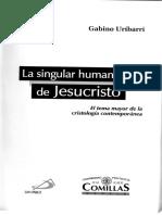 10. Uríbarri - la singular humanidad de Jesucristo